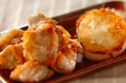 鶏肉と長芋のシンプル焼き