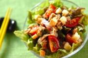 海藻とサニーレタスのサラダ