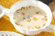 カボチャのクリームスープ