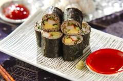 そば巻き寿司