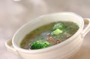 ナメコのおろしスープ