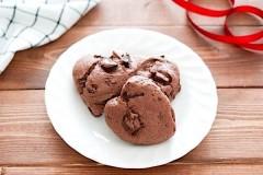 簡単ハート型ココアチョコスコーン