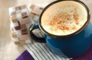 シナモン風味のホットミルク