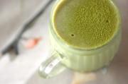豆乳で作る抹茶ゼリー