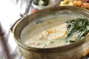 豆乳湯豆腐