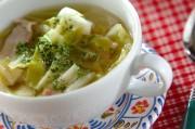 春キャベツのコンソメスープ