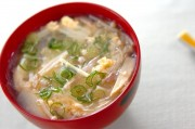 春雨のかきたまスープ
