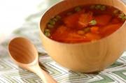 トマトとミックスベジタブルのスープ