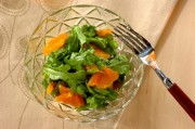 春菊とみかんのサラダ