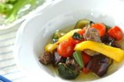 レバーと野菜のオイル煮