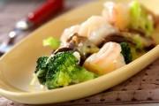 エビと野菜の中華炒め