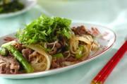 中華風素麺チャンプルー