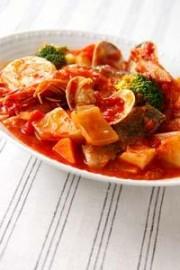 魚介のトマト煮込み