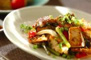 ウナギと豆腐の甘辛炒め煮