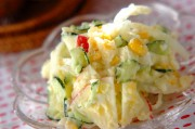 夏のポテトサラダ