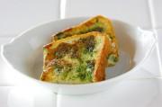 ホウレン草のフレンチトースト