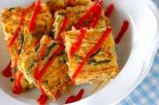 ゴーヤ素麺オムレツ