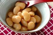 白花豆(白インゲン豆)の甘煮