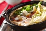 シンプルな味わい!タラ鍋