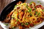 作り置き!麺つゆで和風キノコスパゲティー