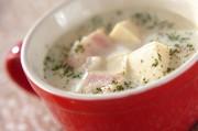 高野豆腐のミルクスープ