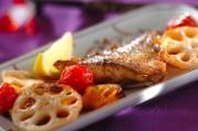 鯛とトマトのオーブン焼き