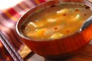 チーズと豆腐の即席のり汁
