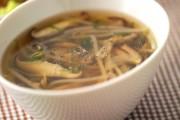 シイタケスープ