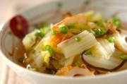 白菜とちくわの塩昆布煮