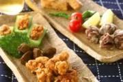 鶏と野菜の揚げ盛り