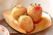 イチゴの白あんデザート