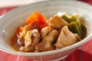 鶏肉とネギの甘辛煮