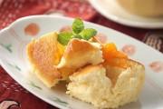 ふわっふわのスフレチーズケーキ