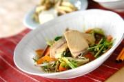 ブリと水菜のサッと煮
