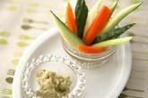 野菜のアボカドディップ