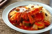 クスクス・鶏肉のトマト煮込みソース