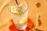 ショウガと梅酒のジンジャーエール
