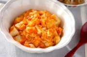 豆腐のチリソース煮