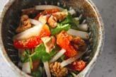 干し柿の酢の物
