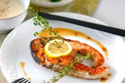 秋鮭ステーキ