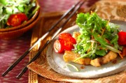 メカジキのエスニックサラダ