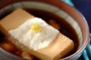 豆腐のとろろ汁