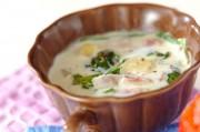 レタスのミルクスープ