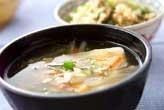 くずし豆腐のとろみ汁