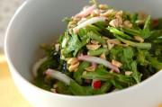 春菊のエスニックサラダ