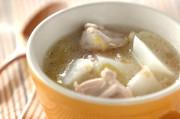 カブと鶏の梅スープ