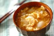 ユリネのふんわり卵汁