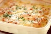タラジャガチーズオーブン焼き