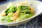 レタスと卵の炒め物