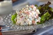 キュウリとセロリのライタ風サラダ